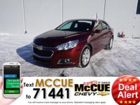 This great-looking 2015 Chevrolet Malibu is the Don
