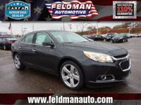 This 2015 Chevrolet Malibu LTZ... Features include: