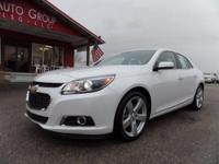 Options:  2015 Chevrolet Malibu Ltz Premium Package!
