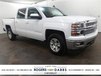 New Price! Summit White 2015 Chevrolet Silverado 1500