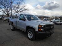 This silver 2015 Chevrolet Silverado 1500 119.0 might