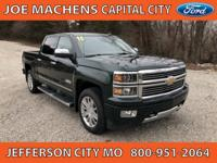 New Price! Clean CARFAX. Green 2015 Chevrolet Silverado