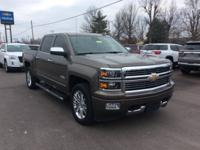 Mocha 2015 Chevrolet Silverado 1500 High Country 4WD