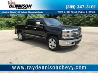 Black 2015 Chevrolet Silverado 1500 LTZ 4WD 8-Speed