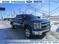 #4X4# #CHROME PACKAGE# #LOW MILES# This 2015 Chevy