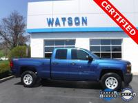 CLEAN CARFAX / 1 OWNER, GM CERTIFIED, 5.3L V8, DOUBLE