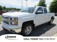 OVERVIEW This 2015 Chevrolet Silverado 1500 4dr LT 4X4