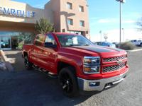 This red 2015 Chevrolet Silverado 1500 LT might be just