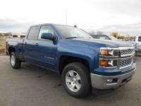 This dk. blue 2015 Chevrolet Silverado 1500 LT might be