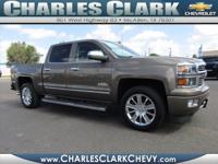 This 2015 Chevrolet Silverado 1500 High Country is
