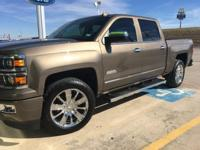 Options:  2015 Chevrolet Silverado 1500 High