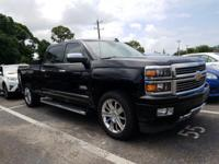 Black 2015 Chevrolet Silverado 1500 High Country 4WD