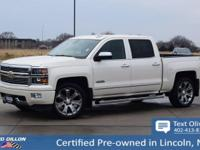 Come see this 2015 Chevrolet Silverado 1500 High