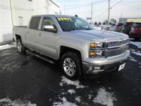 only 22K miles!!..SILVERADO CREW CAB LT: 1 OWNER-LOCAL