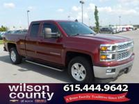 2015 Chevrolet Silverado 1500 LT V8 Deep Ruby Metallic