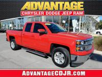 This Red 2015 Chevrolet Silverado 1500 is a ONE Owner