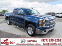 1-Owner New Vehicle Trade! LT 5.3 V8 Double Cab RWD.