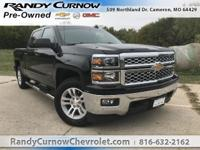 Options:  2015 Chevrolet Silverado 1500 Lt|Black|Dark