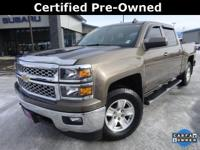 Options:  2015 Chevrolet Silverado 1500 Lt|Brown|Recent