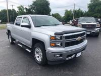 2015 Silverado 1500 LT 4WD Local Trade, Non-Smoker,