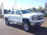 Summit White 2015 Chevrolet Silverado 1500 LT LT2 4WD