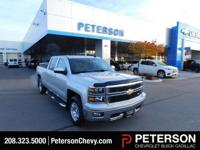 Mighty and Majestic, our 2015 Chevrolet Silverado 1500