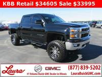 1-Owner New Vehicle Trade! LT 5.3 V8 Crew Cab 4x4. Z71,