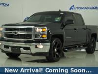 2015 Chevrolet Silverado 1500 LT in Black, 4WD, This