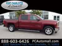 CARFAX One-Owner. Red 2015 Chevrolet Silverado 1500 LT