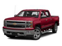 4WD, 2015 Chevrolet Silverado 1500LT in Red, Cruise