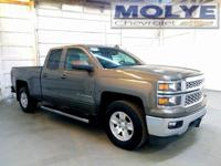 2015 Silverado with Heated Leather Seats and the sought