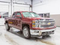 2015 Chevrolet Silverado 1500 Red LT 4 WHEEL DRIVE, Oil