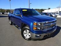 CARFAX One-Owner. Clean CARFAX. Blue 2015 Chevrolet