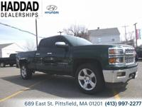 2015 Chevrolet Silverado 1500 LT Green 6-Speed