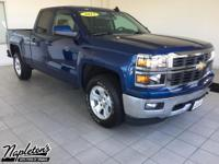 2015 Chevrolet Silverado 1500 in deep ocean blue