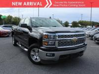New arrival! 2015 Chevrolet Silverado 1500 LT! Only