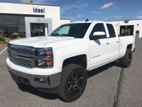This 2015 Chevrolet Silverado 1500 LT is proudly