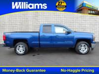 Options:  2015 Chevrolet Silverado 1500 Lt|Blue|Touch