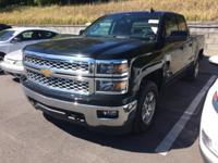Certified. This 2015 Chevrolet Silverado 1500 in Black