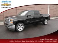 Options:  2015 Chevrolet Silverado 1500 2Lt|Black|Jet