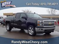 2015 Silverado 1500 LT Clean CARFAX - 4WD, Rear Back-Up