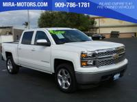 Delivers 23 Highway MPG and 16 City MPG! This Chevrolet