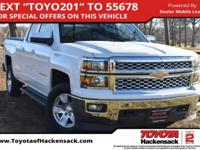 CARFAX One-Owner. White 2015 Chevrolet Silverado 1500