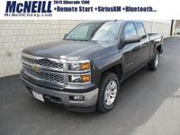 This 2015 Chevrolet Silverado 1500 LT in Tungsten