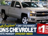 **1-OWNER**Z71**PWR SLIDING REAR WINDOW** Great 1-Owner