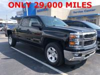 New Price! Black 2015 Chevrolet Silverado 1500 LT 4WD