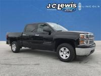 New Price! Clean CARFAX. Black 2015 Chevrolet Silverado