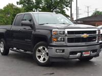 New Price! Clean CARFAX. Gray 2015 Chevrolet Silverado