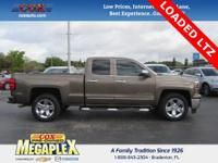 This 2015 Chevrolet Silverado 1500 LTZ in Brownstone