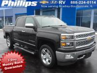 2015 Chevrolet Silverado 1500 LTZ 1LZ Black 3-DAY MONEY